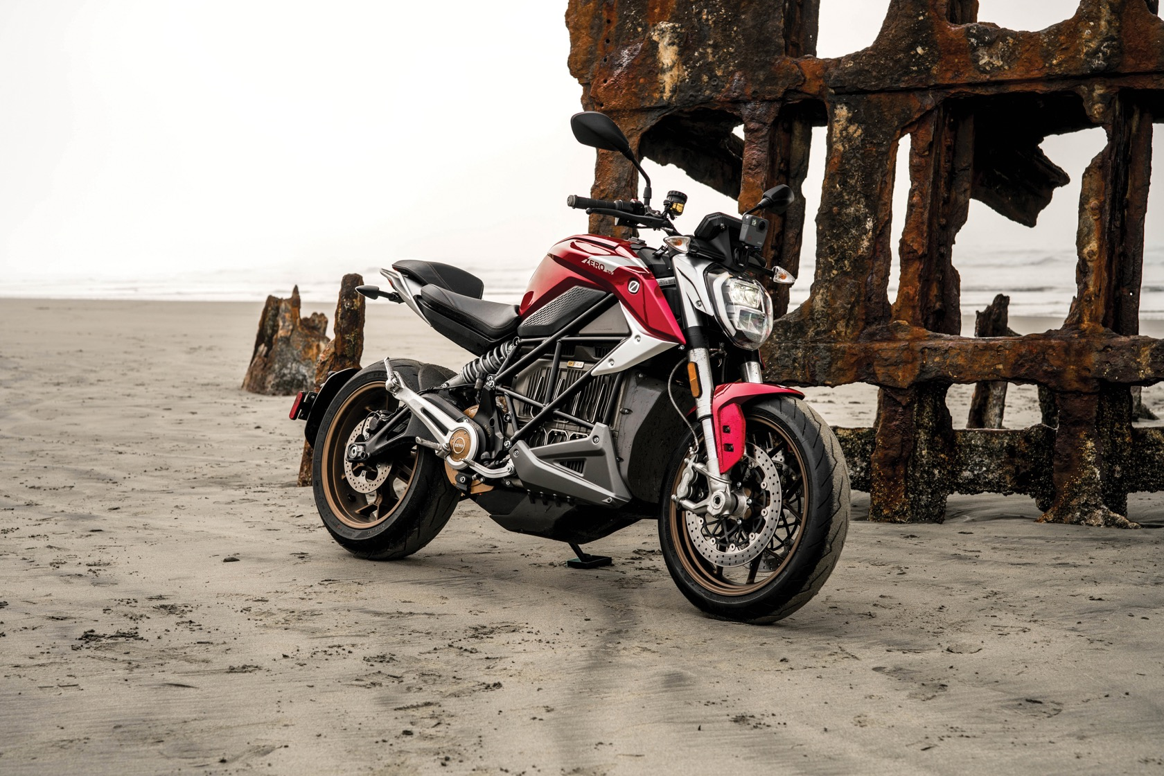 Finally an Electric Ducati Monster