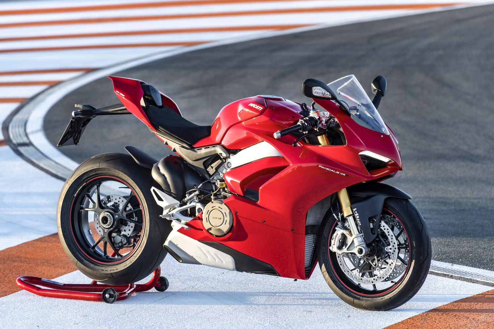 One of the most beautiful Ducati montorcycles, the 2018 Panigale V4