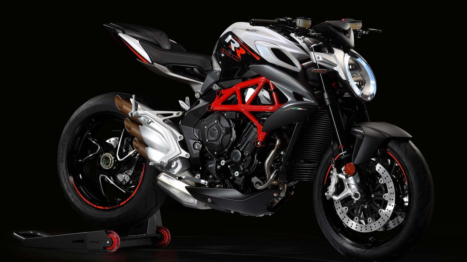 The MV Augusta Brutale is an aesthetic work of art, and an instant classic motorcycle.