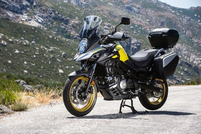 Not an affordable classic motorcycle - just a good one. The Suzuki V-Strom