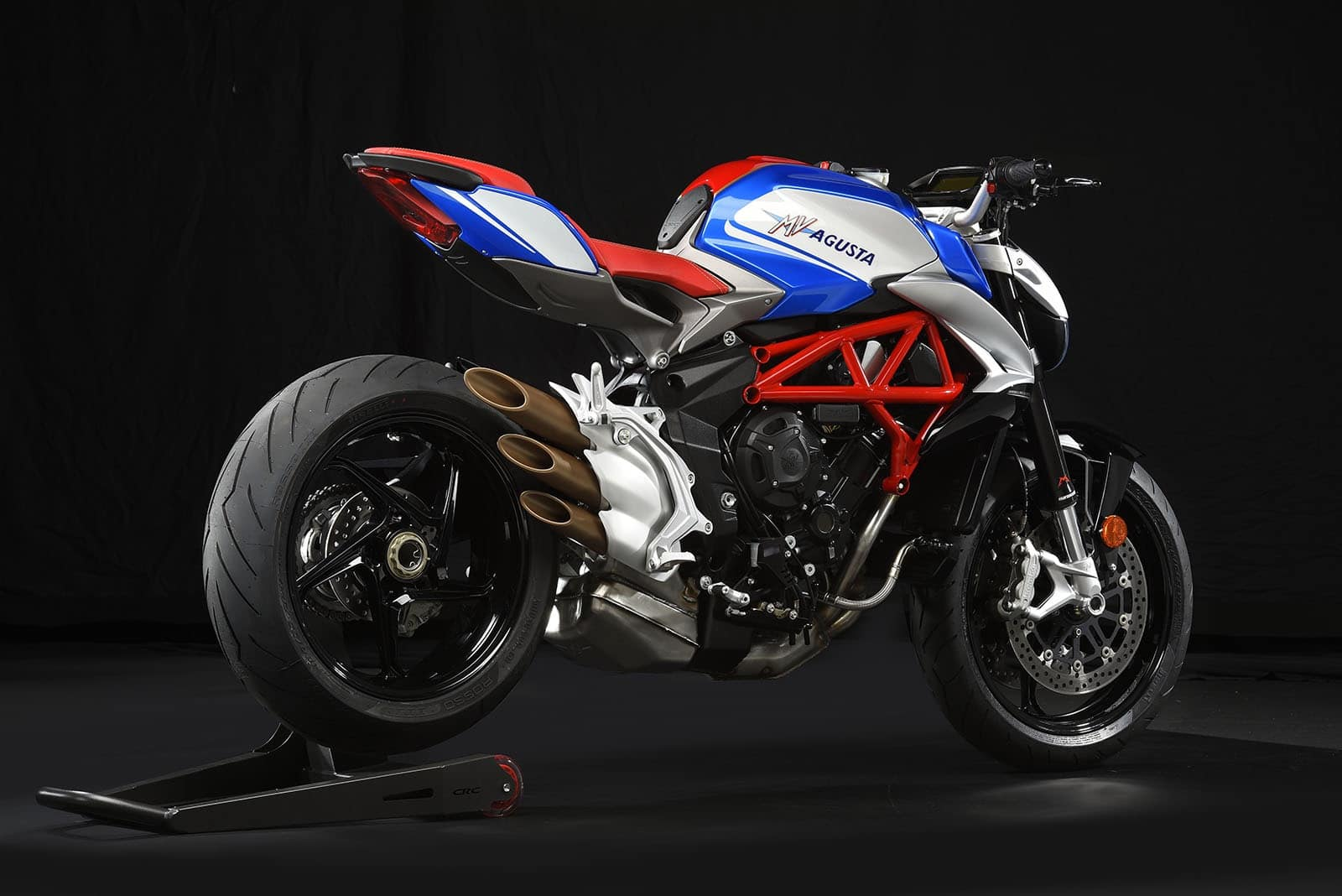 MV Agusta Brutale America - an extremely attractive upright naked motorcycle