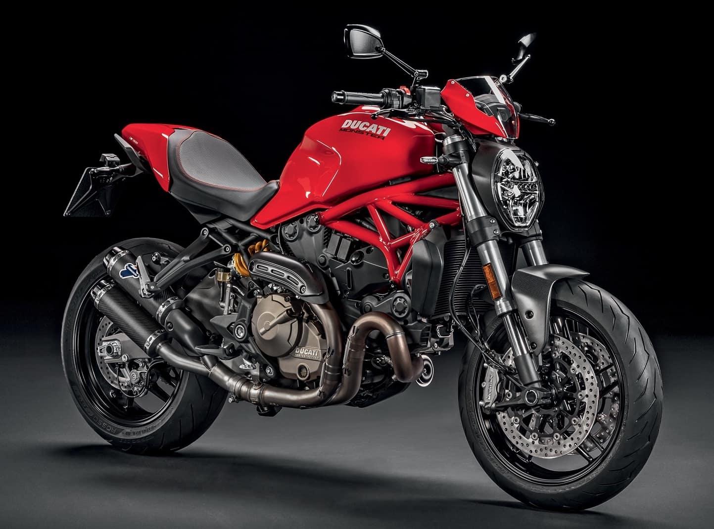 Ducati Monster 821, the modern marvel water-cooled monster