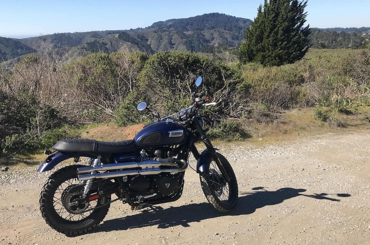 The Triumph Scrambler 2014, which I wrote this buyers guide based on