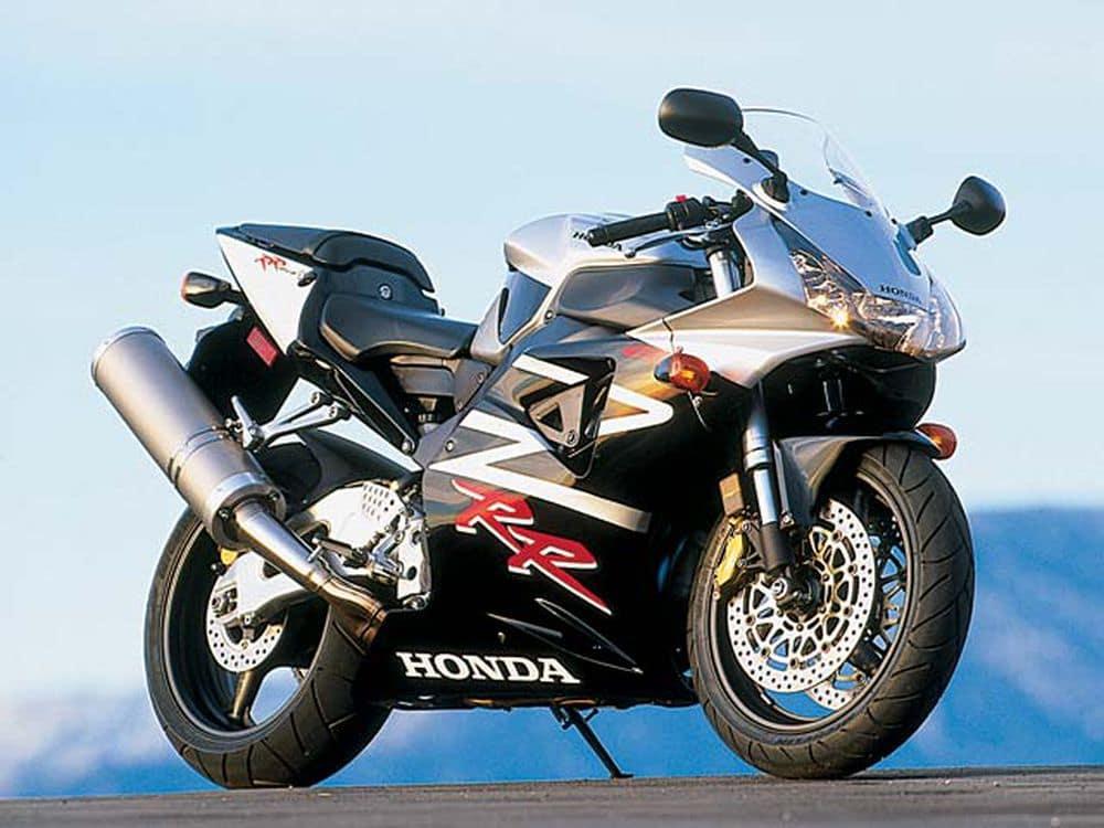 Honda CBR954RR FireBlade in silver and black