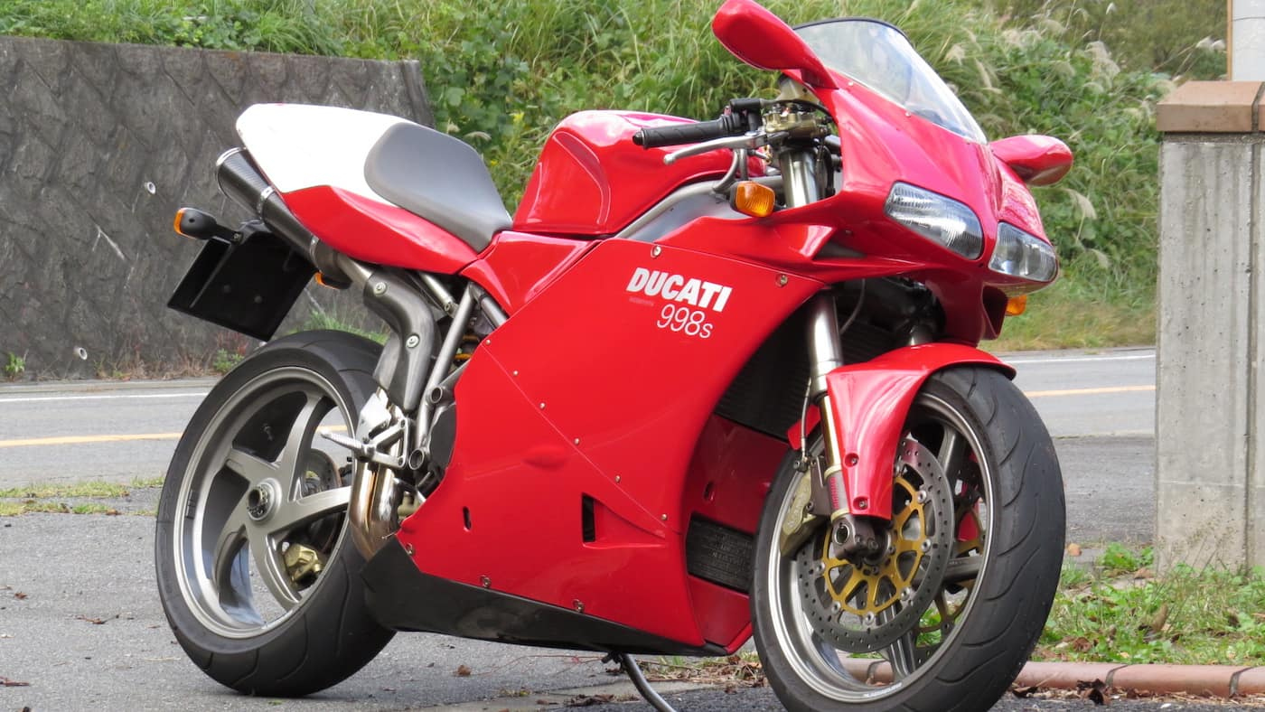 The Ducati 998S - courtesy Wikimedia Commons