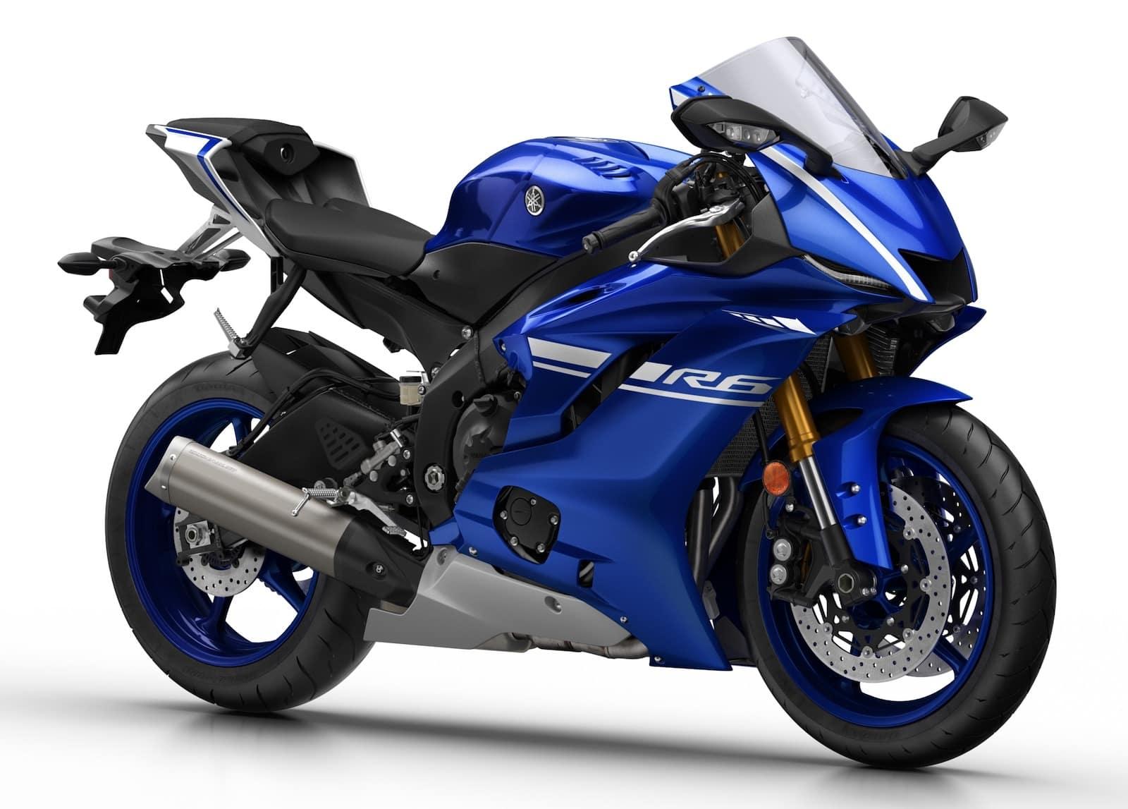 Latest generation Yamaha R6, 2017-present