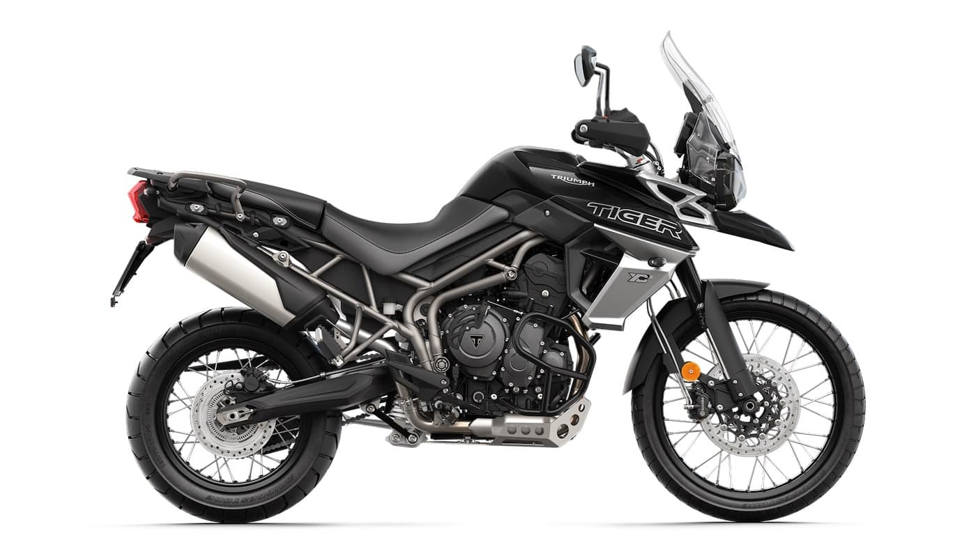 Triumph Tiger 800 XCx alternative to the Ténéré 700