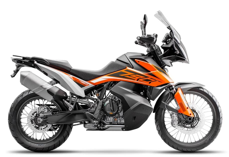 KTM 790 Adventure — a common alternative to the Yamaha Ténéré 700