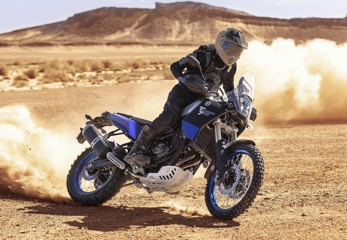 Yamaha Ténéré 700, one of the best adventure sports/dual sports motorcycles you can get.