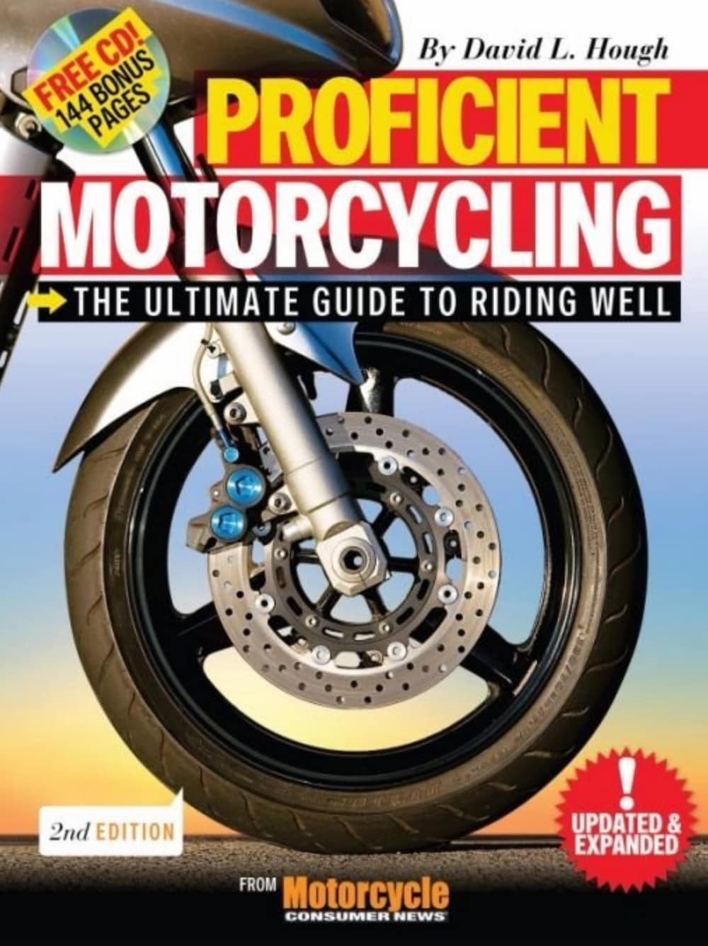 Proficient Motorcling Cover - One of the best books to introduce motorcycling, for street riding