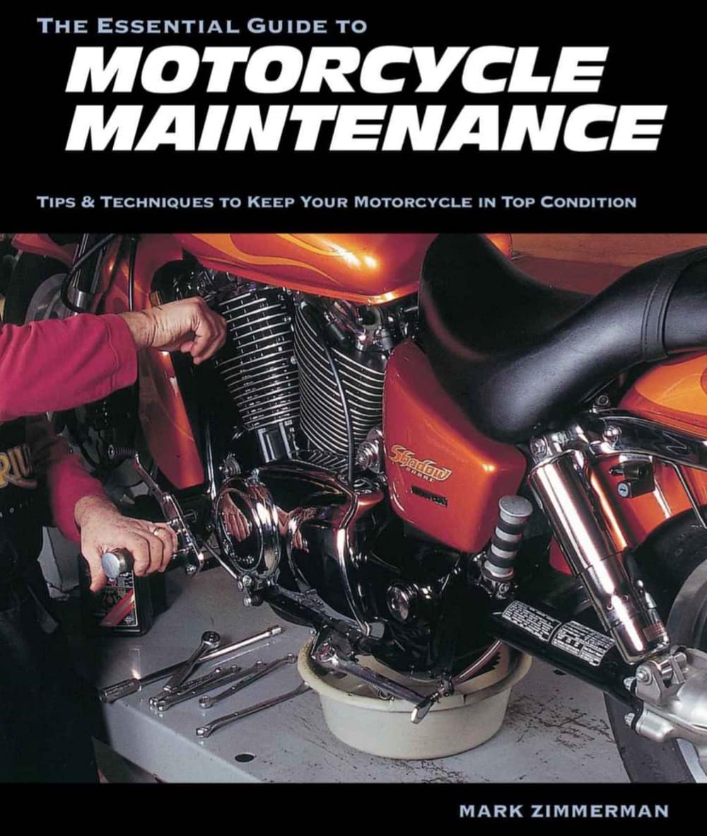 Best books for learning motorcycling - the essential guide to motorcycle maintenance