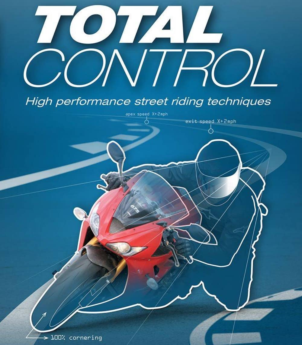 Total Control by Lee Parks - one of the best books to learn motorcycle riding