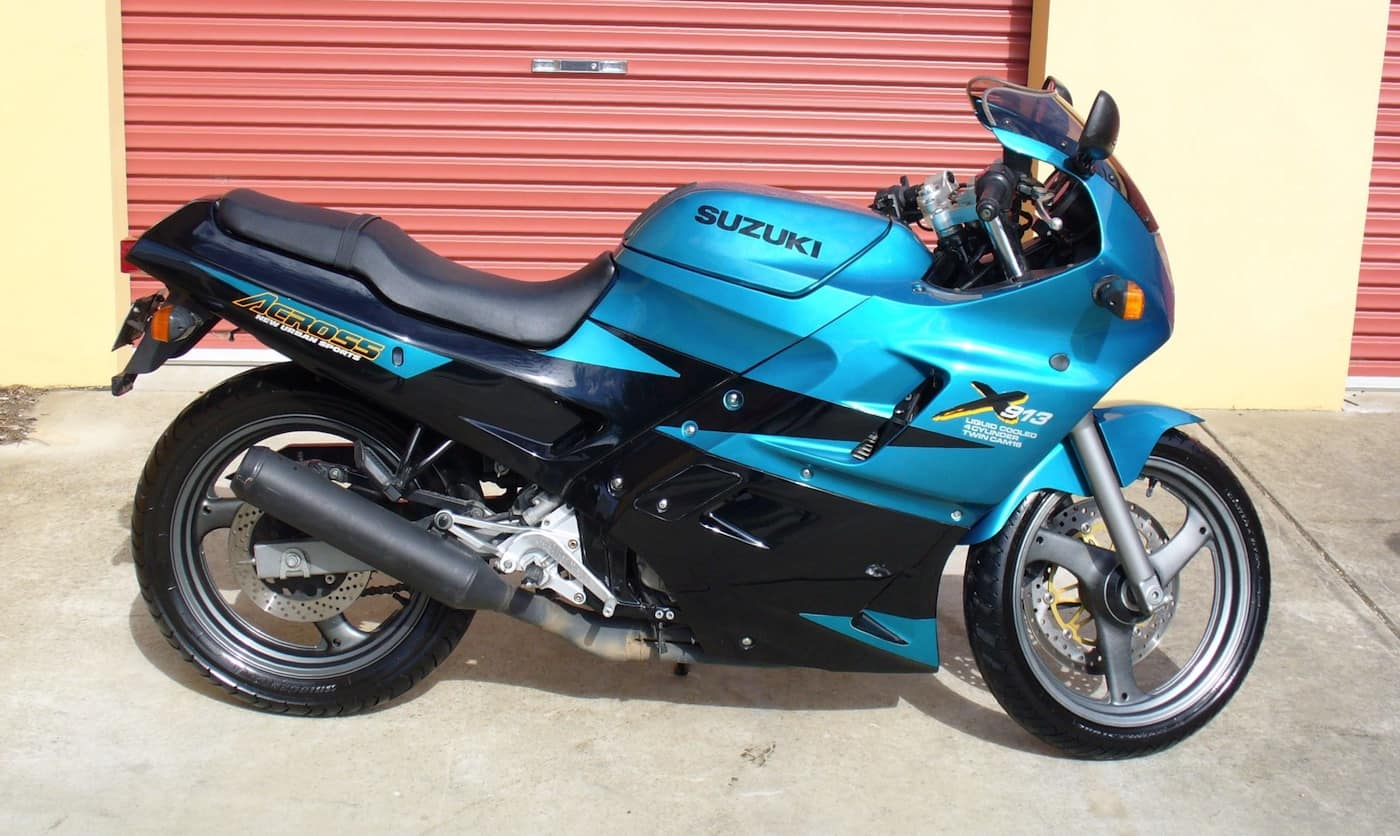 Suzuki Across GSX250 - a four cylinder 250cc great first track day motorcycle