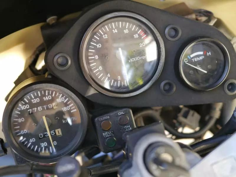 Redline for the four cylinder CBR250RR - great track day motorcycle