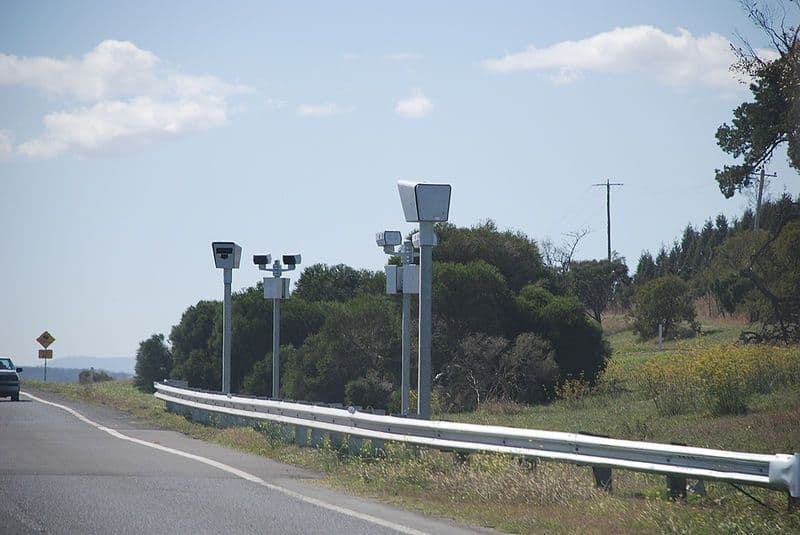 Average speed cameras used in Australia