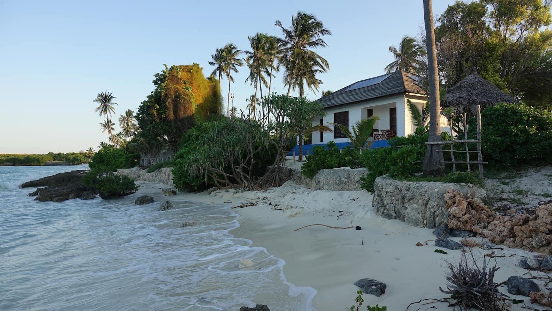 Staying in Jambiani, Tanzania