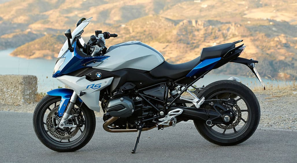 The BMW R1200RS — a touring oriented version of BMW's boxer engine