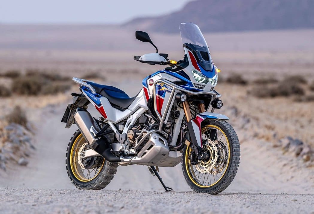 A very good looking 2020 motorcycle - the Honda Africa Twin 1100