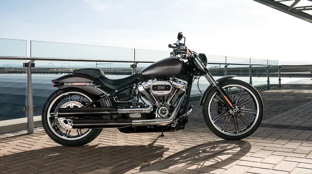The Harley Davidson Breakout, a beautiful 2020 motorcycle