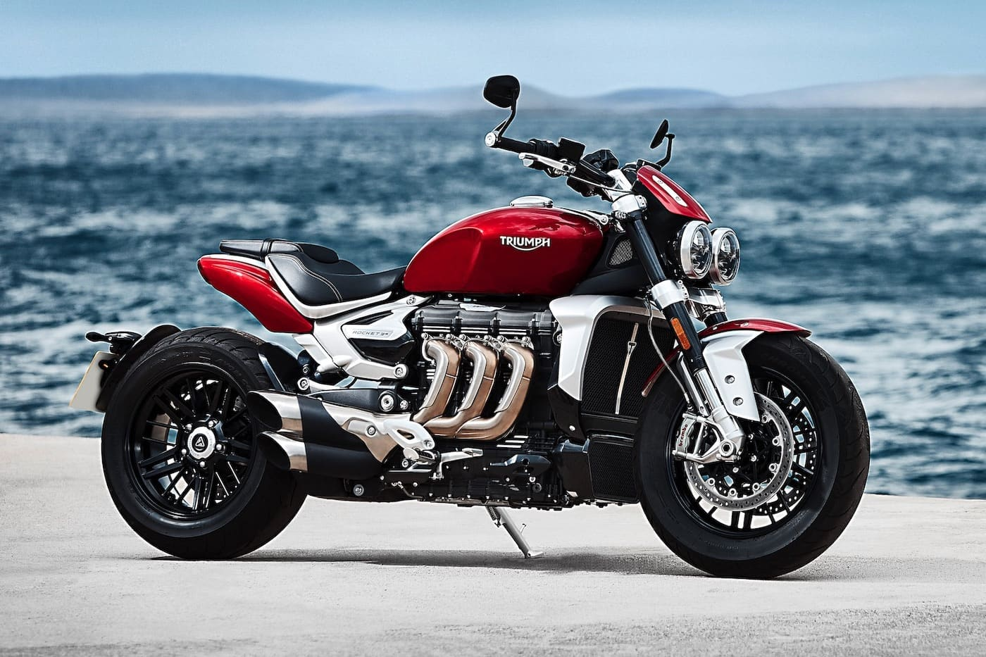 The triumph rocket 3, non-TFC, still a badass motorcycle for 2020