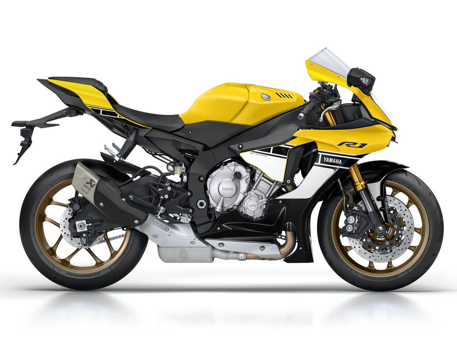 Yamaha 2016 anniversary edition with cornering ABS standard