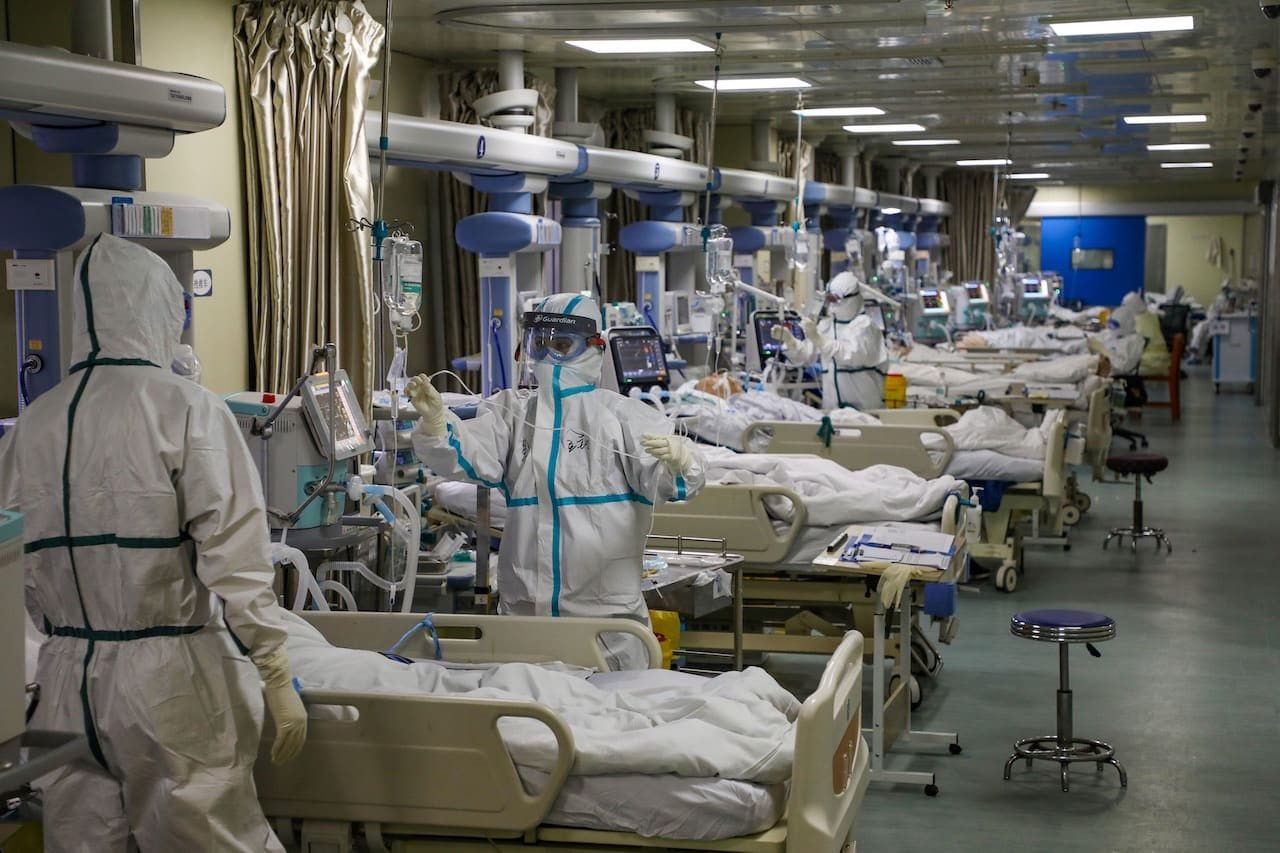 ICU during the coronavirus pandemic - not a great time to be motorcycling if you might crash