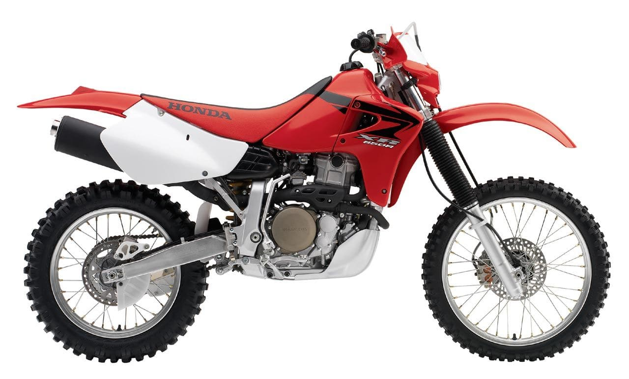 Honda XR650R stock and unmodified