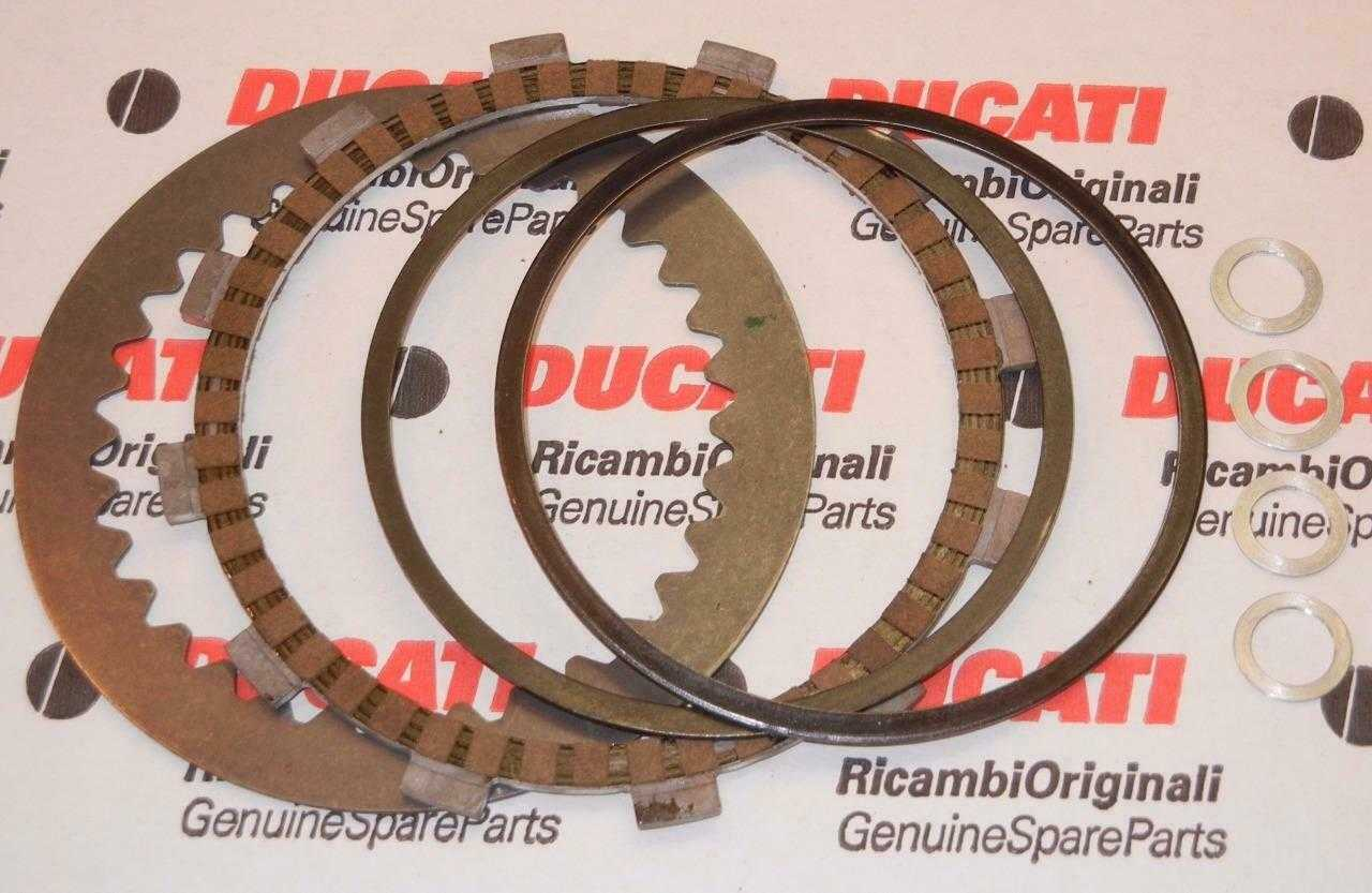 Hyperstrada/Hypermotard clutch anti-judder pack available on eBay