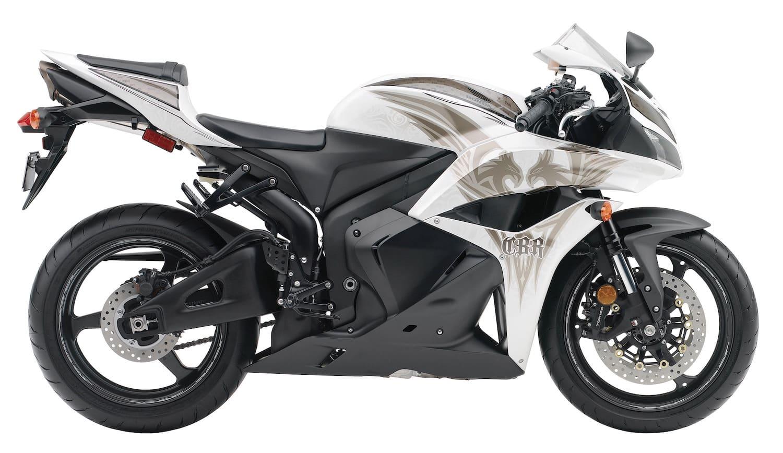 "2009 Honda CBR600RR in ""Phoenix"" colour scheme. Stock image."