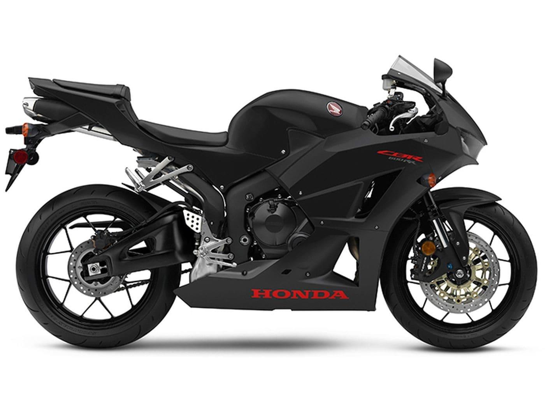 The 2019 Honda CBR600RR in black