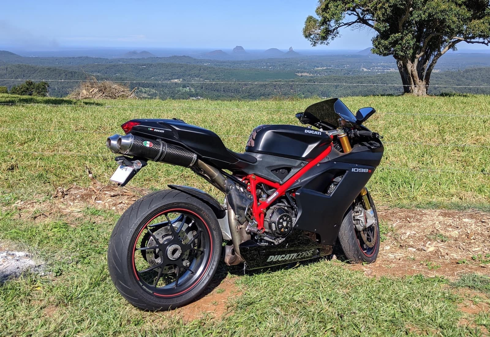 My black Ducati 1098S