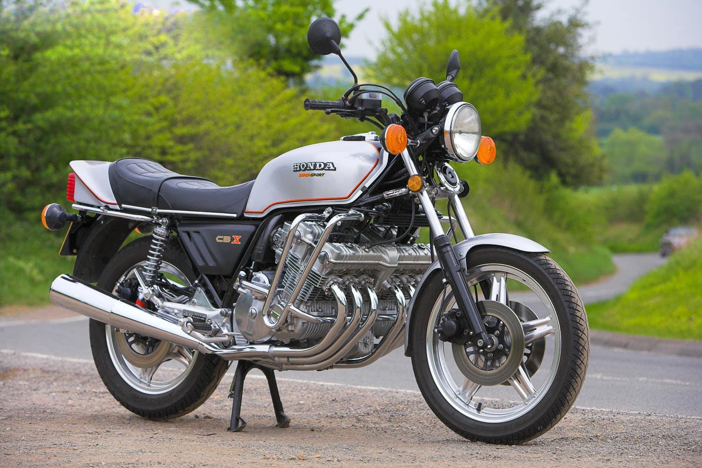 CBX1100, an inline-six sport motorbike from Honda