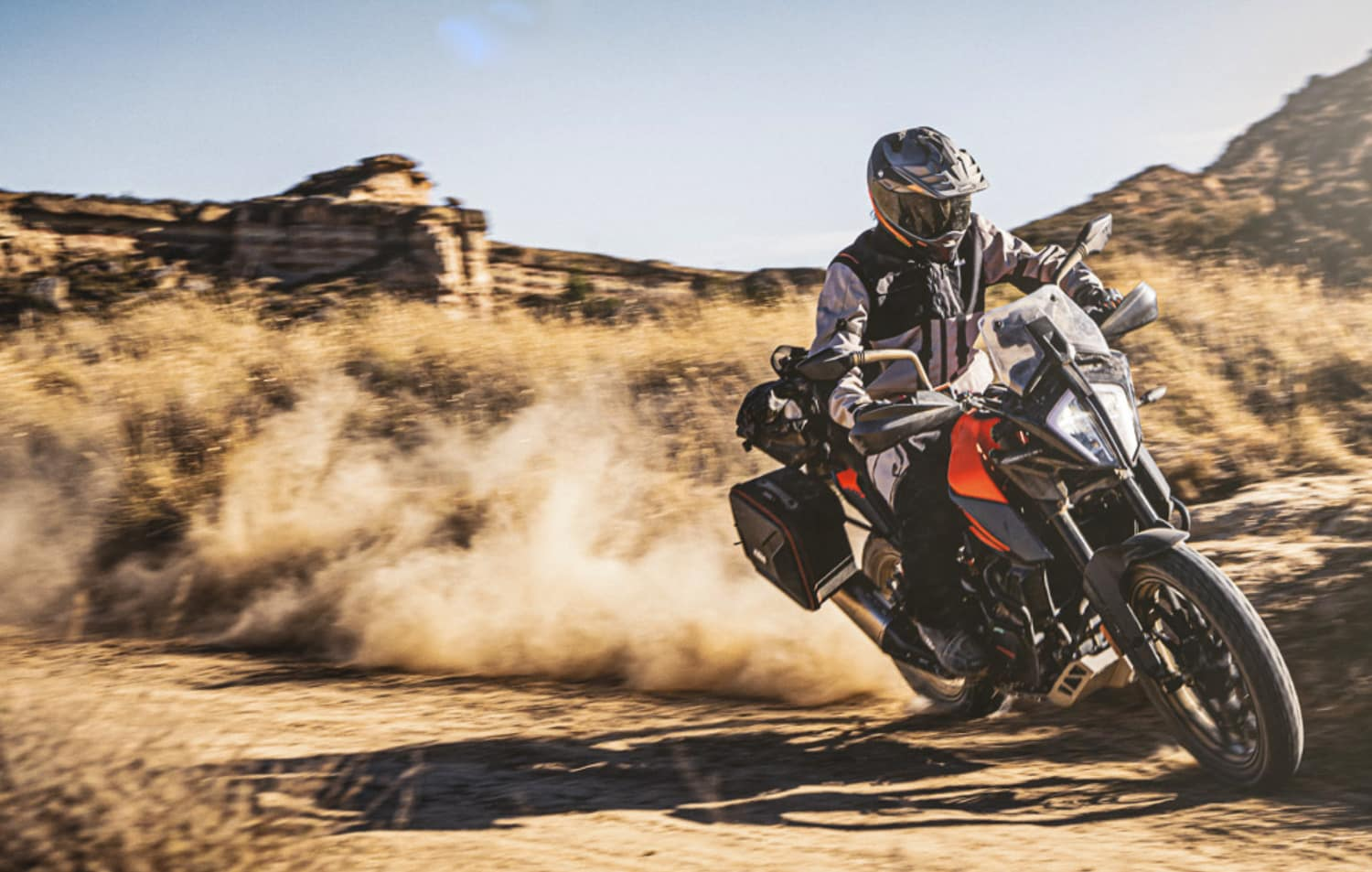 KTM's Adventure 390 with cornering ABS