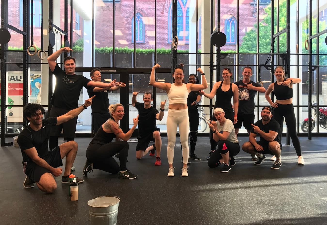 The community at F45 gyms vs Crossfit.