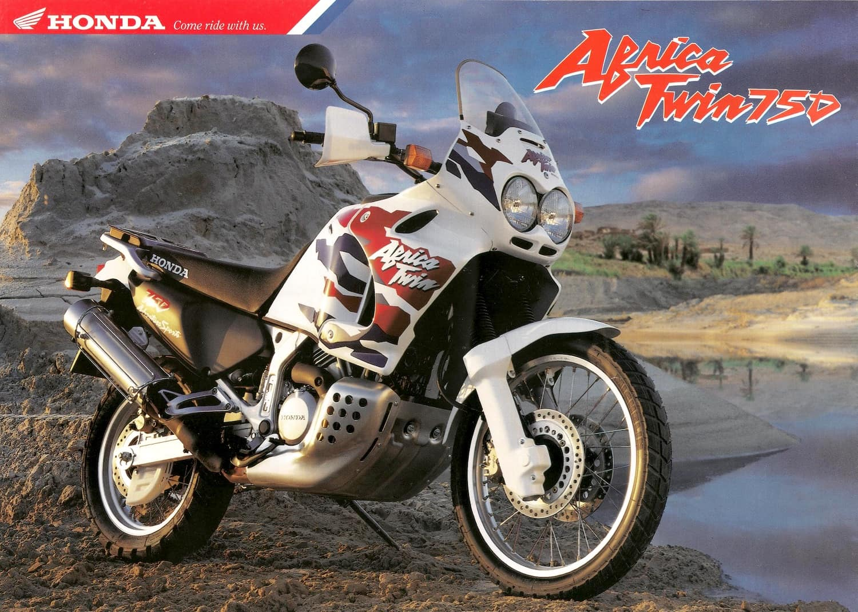 The original Honda Africa Twin