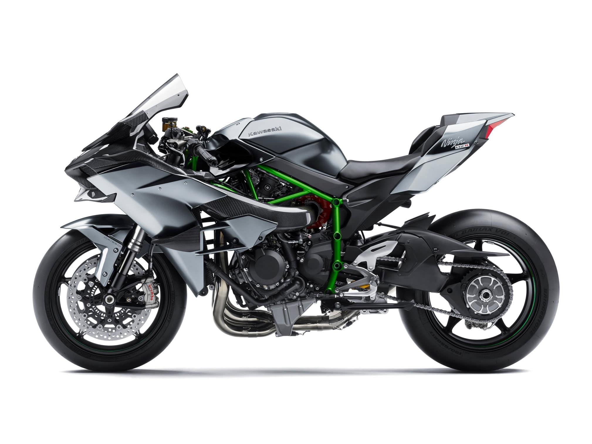Kawasaki Ninja h2R - track only motorcycle