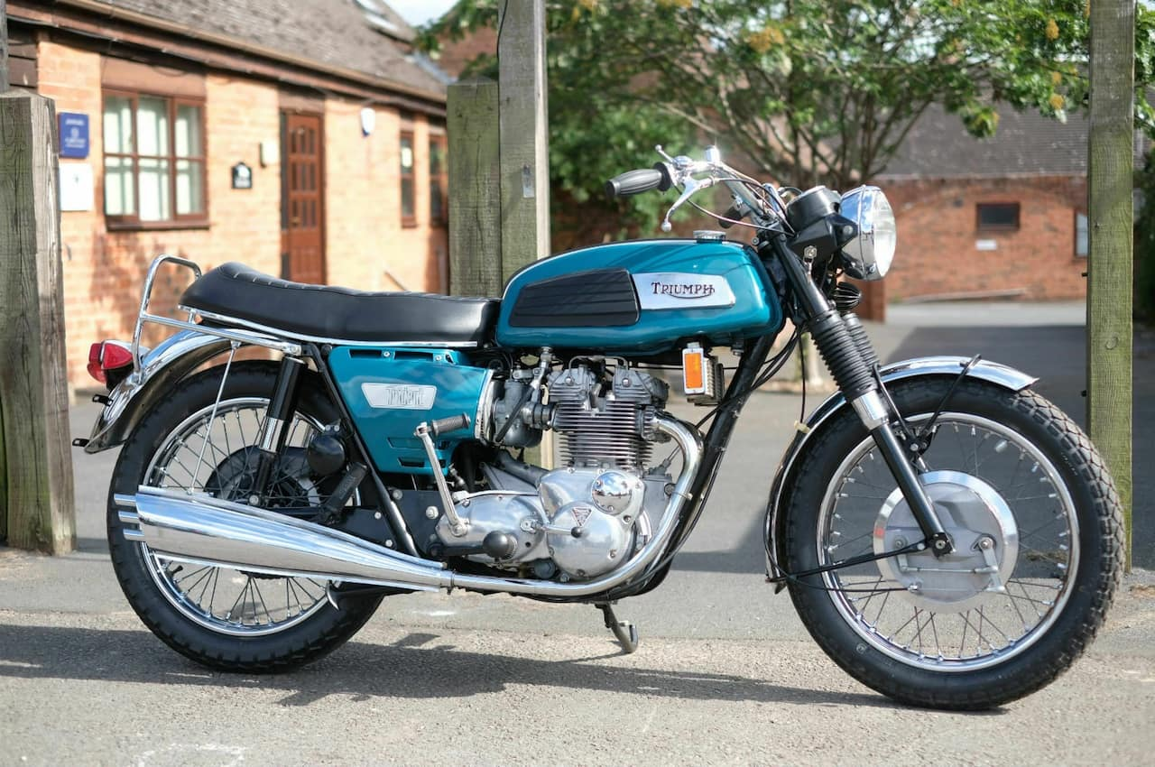 Triumph Trident T150T from 1968