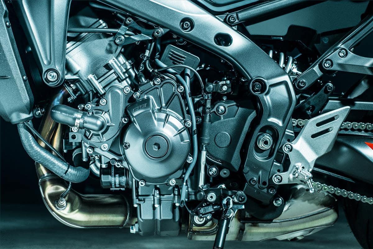 2021 Yamaha MT-09 engine improvements