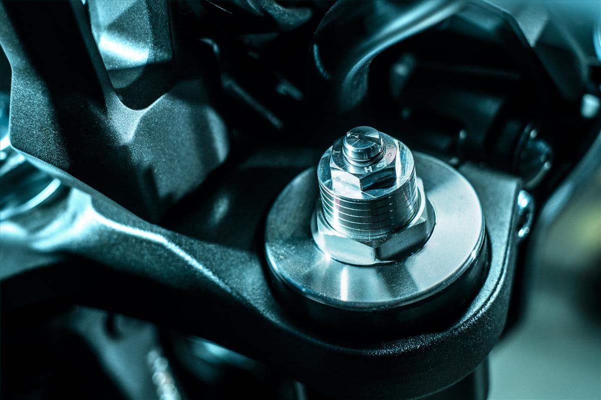 2021 Yamaha MT-09 suspension fully adjustable preload, rebound, compression