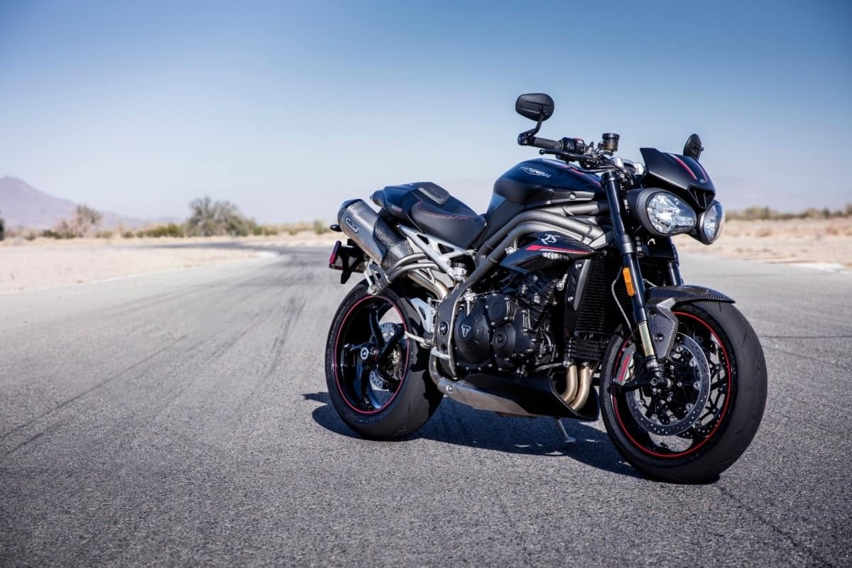 Cruise control on the Triumph Speed Triple 2018+