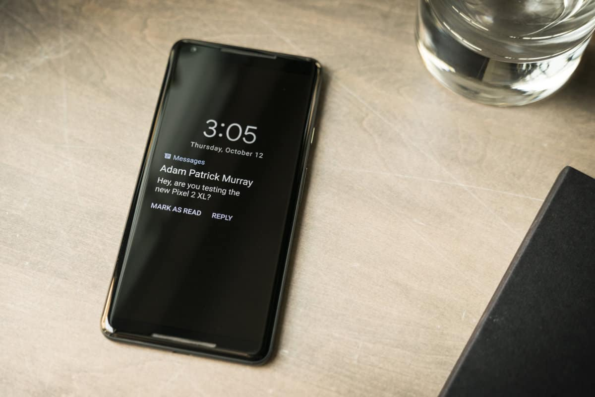 Android always on display, not on iOS