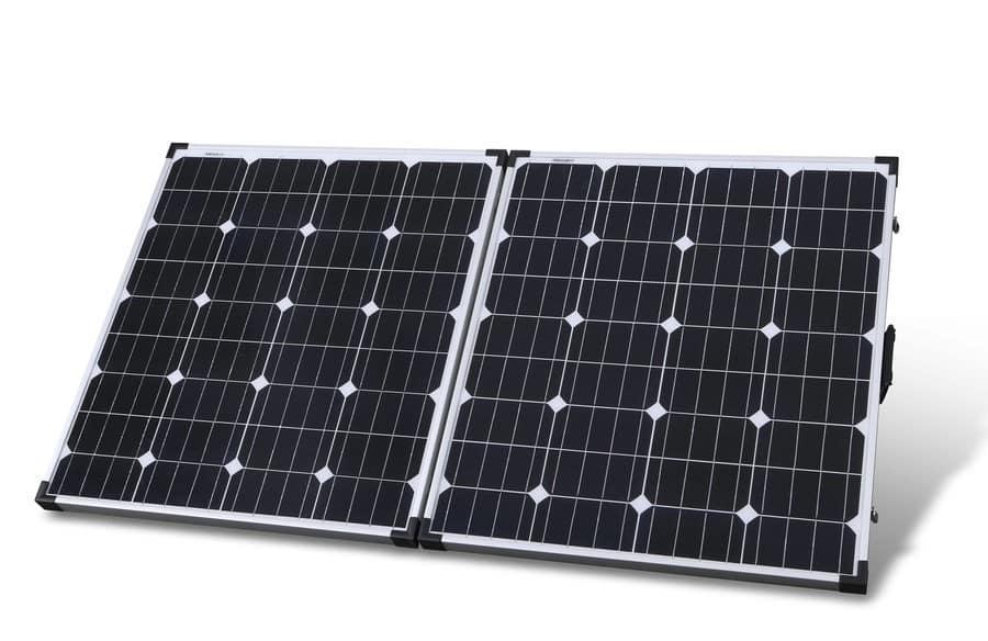 Jaycar Powertech 160W folding solar