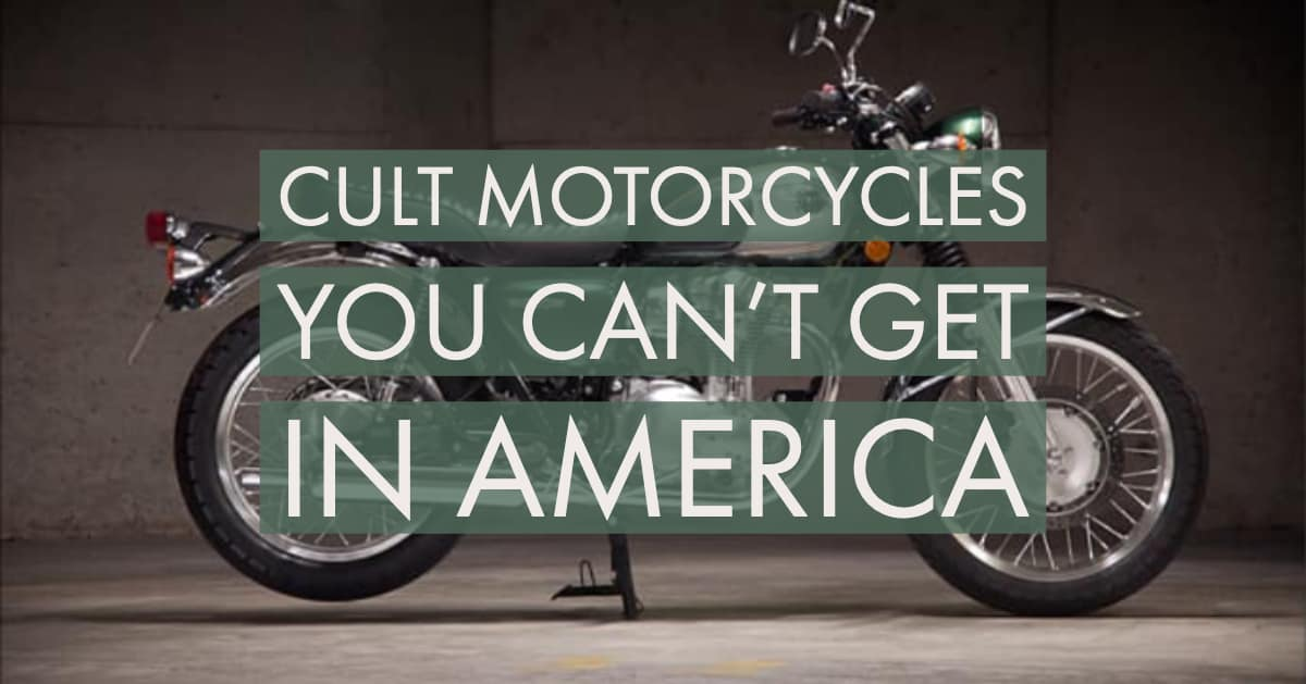 Australian Motorcycles You Can't Get in America (that you wish you could)