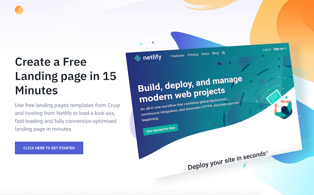 Create Free (yes really!) Landing Pages in 20 Minutes