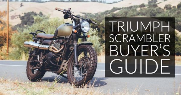 Triumph Scrambler Buyer's Guide: Love to Go Slow