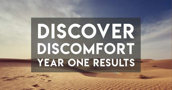 "A Year of Love and Struggle with ""Discover Discomfort"""