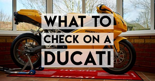 What to Check When Buying a Used Ducati