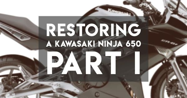 Restoring a Modern Motorcycle — Part I, Purchase and Inspection