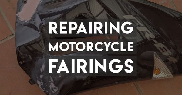 Guide to Plastic Welding and Painting Motorcycle Fairings